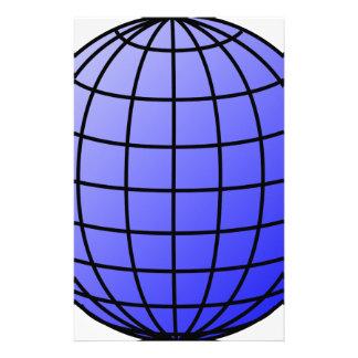 Big Network Globe Stationery