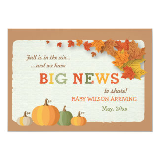 Big News Pregnancy Announcement