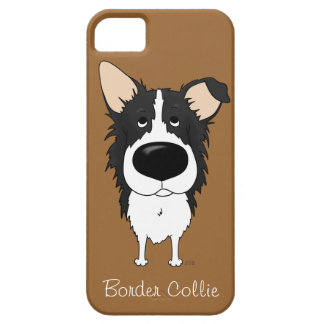 Big Nose Border Collie iPhone 5 Covers