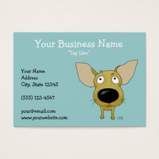 Big Nose Chihuahua Business Card
