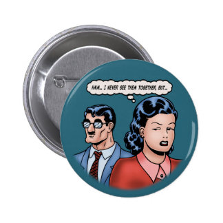 Big-Nose Disguise 2 Inch Round Button