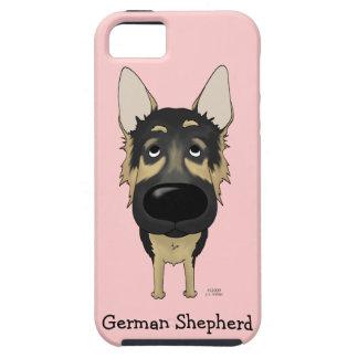 Big Nose German Shepherd iPhone 5 Case