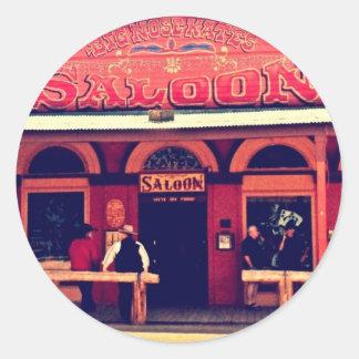 Big Nose Kate's Saloon Tombstone Arizona Round Sticker