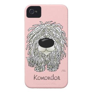 Big Nose Komondor iPhone 4 Cases