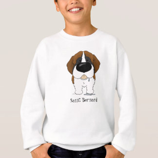 Big Nose Saint Bernard Sweatshirt