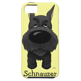 Big Nose Schnauzer iPhone 5 Cases