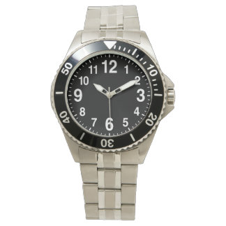 Big Numbers Easy to Read Watches for Men and Women