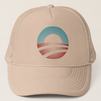 Big O Barack Obama Logo Trucker Hat