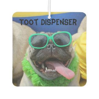 "Big O The Pug Air Freshener ""Toot Dispenser"""