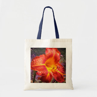 Big Orange Budget Tote Bag