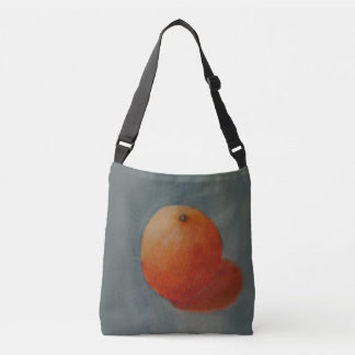 Big Orange Crossbody Bag