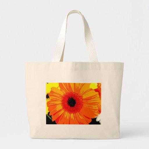 Big Orange flower creations Bags