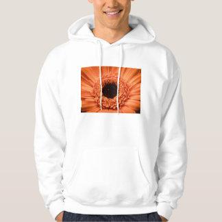 Big Orange Gerbera Daisy Hoodie