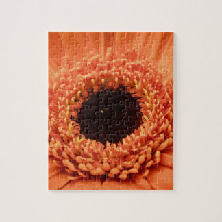 Big Orange Gerbera Daisy Jigsaw Puzzle