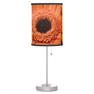 Big Orange Gerbera Daisy Table Lamp