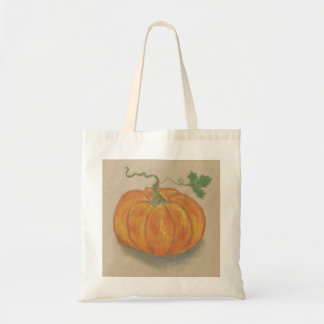 Big Orange Pumpkin Budget Tote Bag