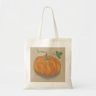 Big Orange Pumpkin Budget Tote Bag