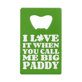 Big Paddy II Credit Card Bottle Opener