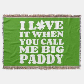 Big Paddy II Throw Blanket