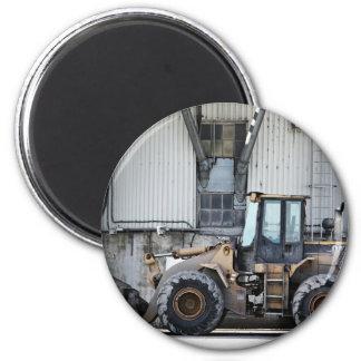 big parking tractor bulldozer 2 inch round magnet