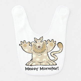 BIG PAW MESSY MONSTER BIB
