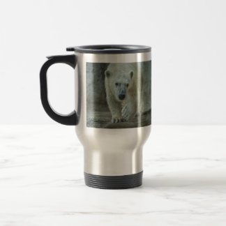 """Big Paw"" Polar Bear Cub Travel Mug"