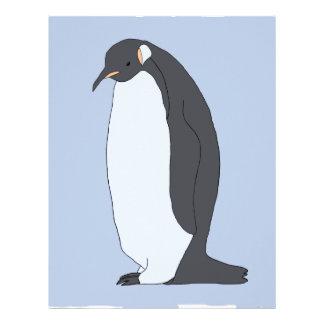 Big Penguin Customized Letterhead