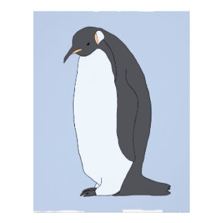 Big Penguin Letterhead