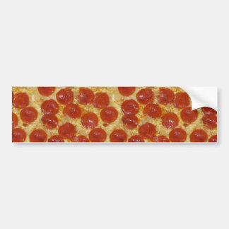 big pepperoni pizza bumper sticker