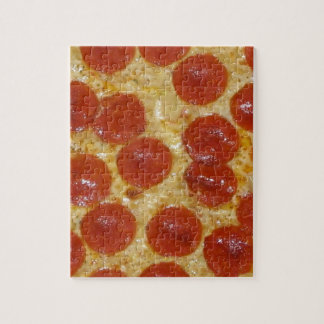 big pepperoni pizza jigsaw puzzle