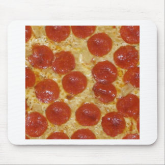 big pepperoni pizza mouse pad