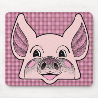 Big Pig Mouse Pad