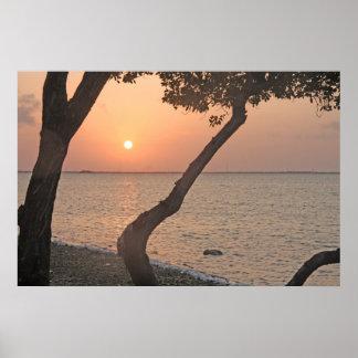 Big Pine Key Sunrise Horizontal Print