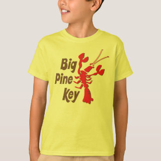 Big Pine Key T-shirt with lobster design