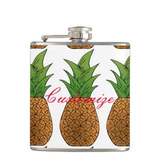 big pineapples Thunder_Cove Hip Flask