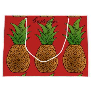 big pineapples Thunder_Cove Large Gift Bag