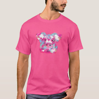Big pink pig dirty ego T-Shirt