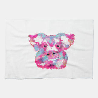 Big pink pig dirty ego towels