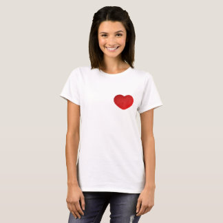 Big Plush Heart. T-Shirt