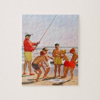 Big Pole Little Fish by Richard Sargent Puzzle