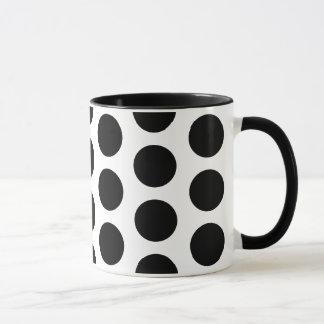Big Polka Dots Pattern Mug