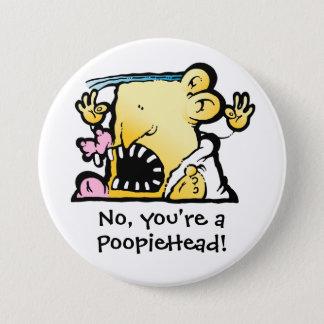 Big PoopieHead Button