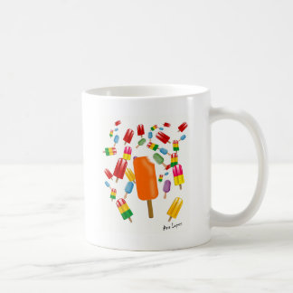 Big Popsicle Chaos by Ana Lopez Coffee Mug