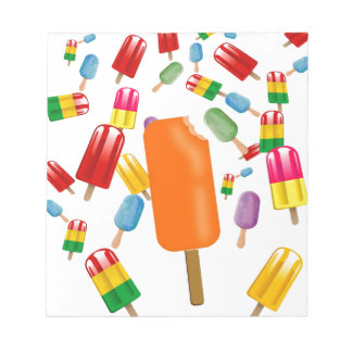 Big Popsicle Chaos by Ana Lopez Notepad