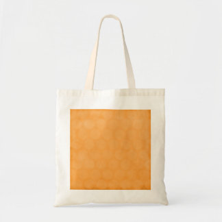 BIG POPSICLE ORANGE SUMMER POLKADOTS CIRCLES POLKA TOTE BAG