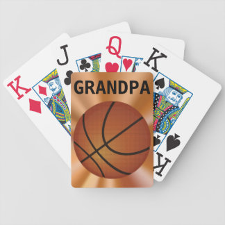 Big Print Playing Cards, Basketball Playing Cards