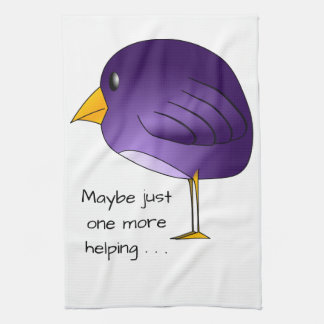 Big Purple Bird: Maybe just one more Personalized Kitchen Towel