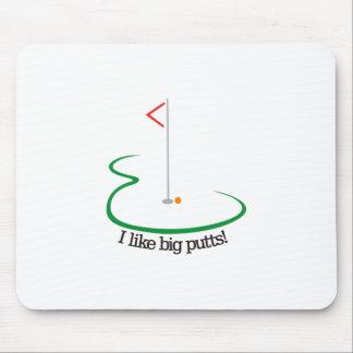 Big Putts Mouse Pad