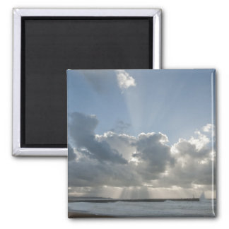 Big rays through clouds magnet