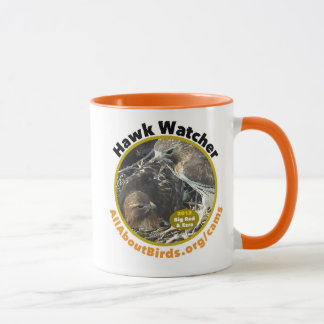 "Big Red and Ezra ""Hawk Watcher"" Photo Mug"